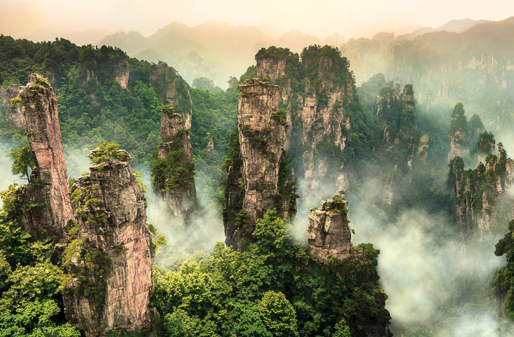 Zhangjiajie – Pandora on Earth