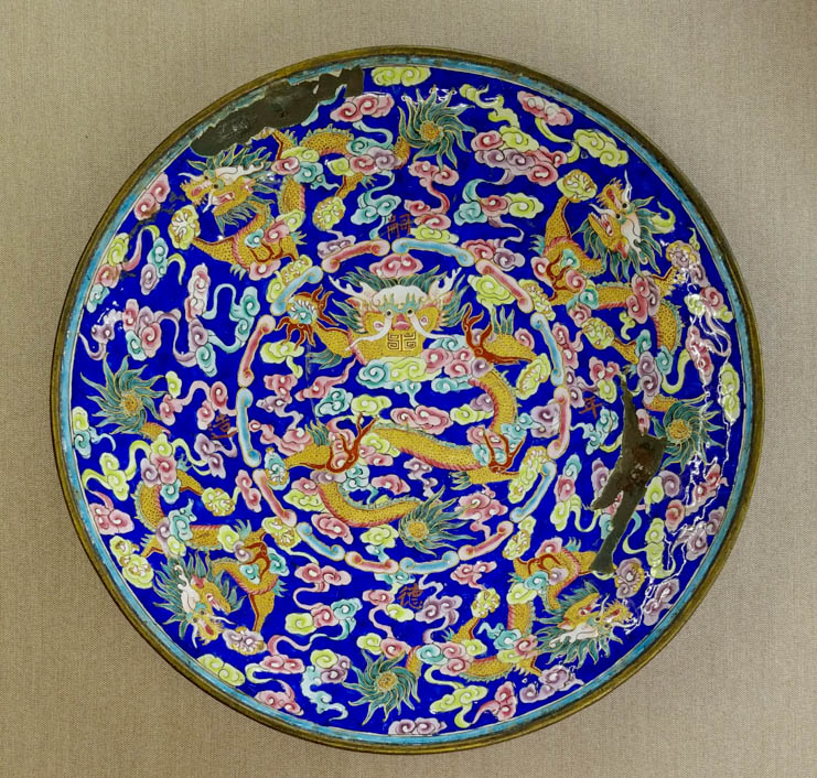 Dish for daily life in Hue royal palace Marked 嗣德年造 (Made during Tu Duc reign)