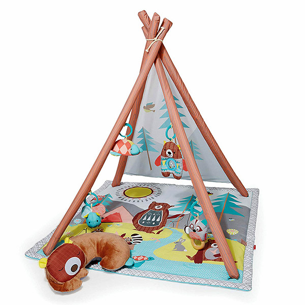 Camping Cub Baby Play Mat Activity Gym