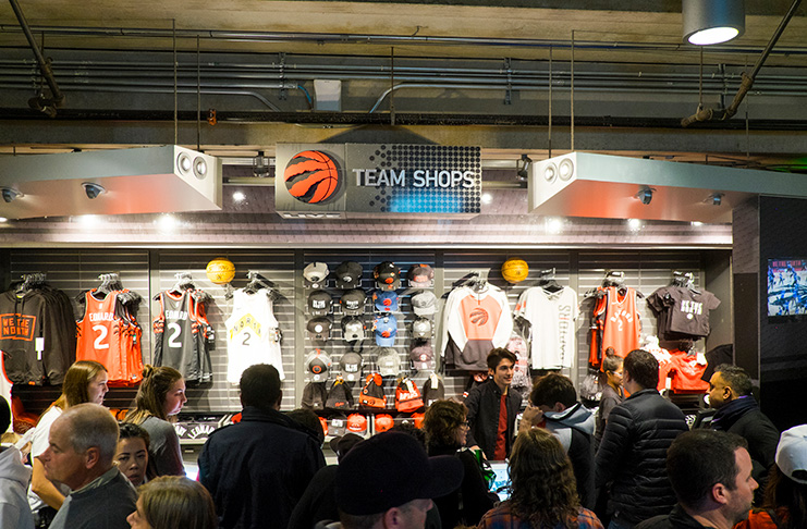 Photo Credit Tourism Canada / Raptors basketball ACC