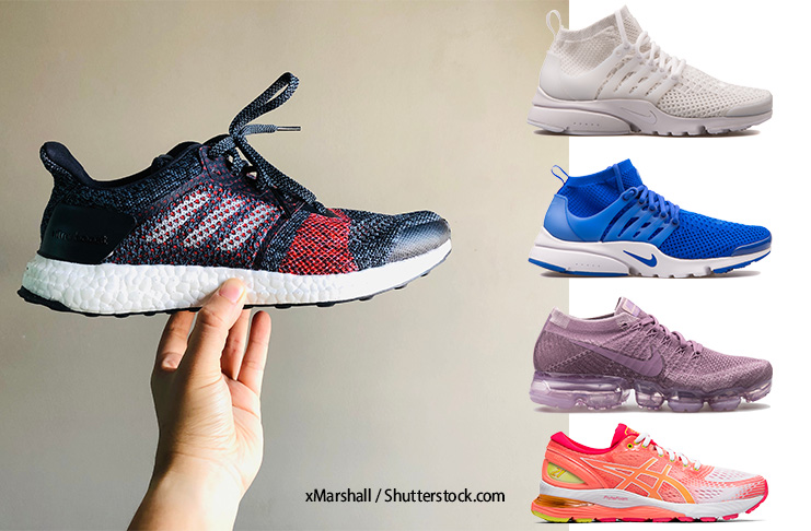 Decode Fashion - Knit Sneakers