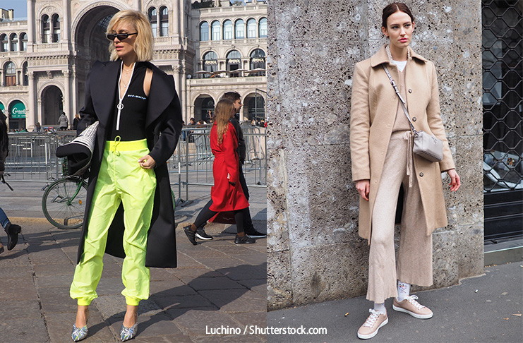 Decode Fashion - Paperbag trousers