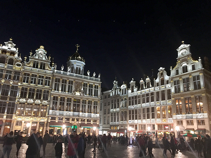 Brussels-Grand Place Night