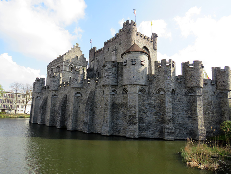 Ghent-Castle Counts - Exterior Water