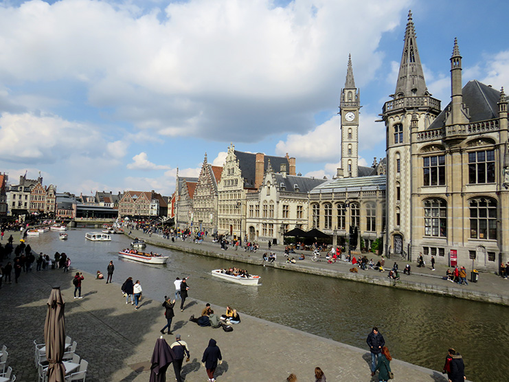 Ghent-River View