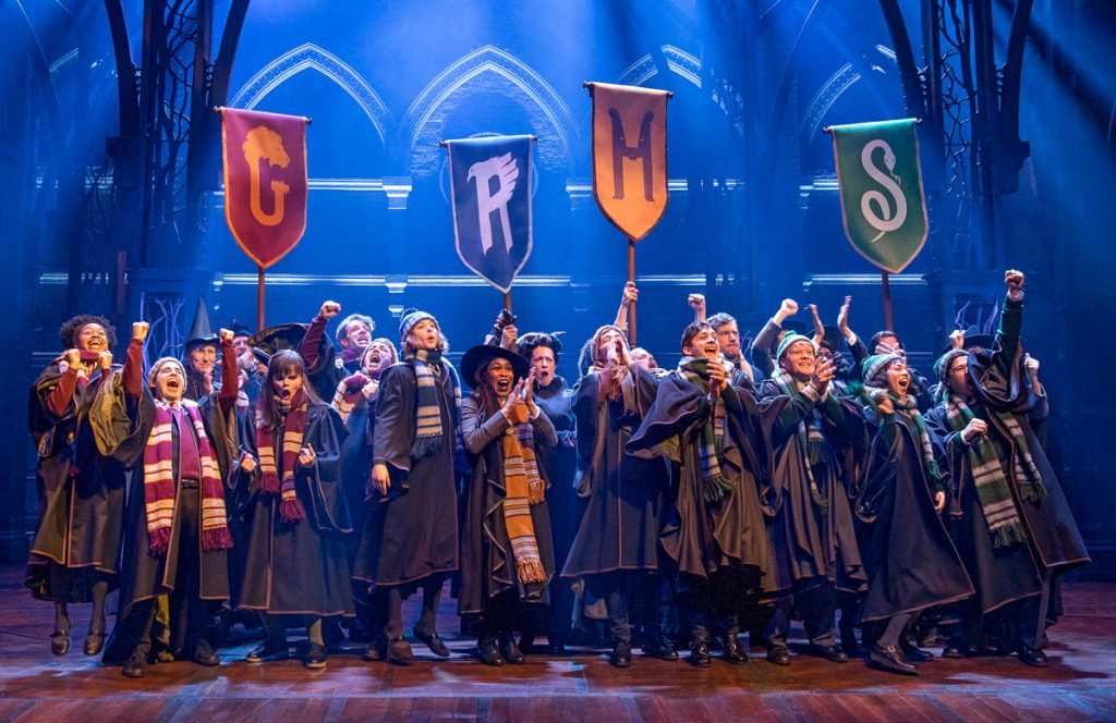 Pictured: The Broadway cast of Harry Potter and the Cursed Child - Photo Credit: Matthew Murphy.