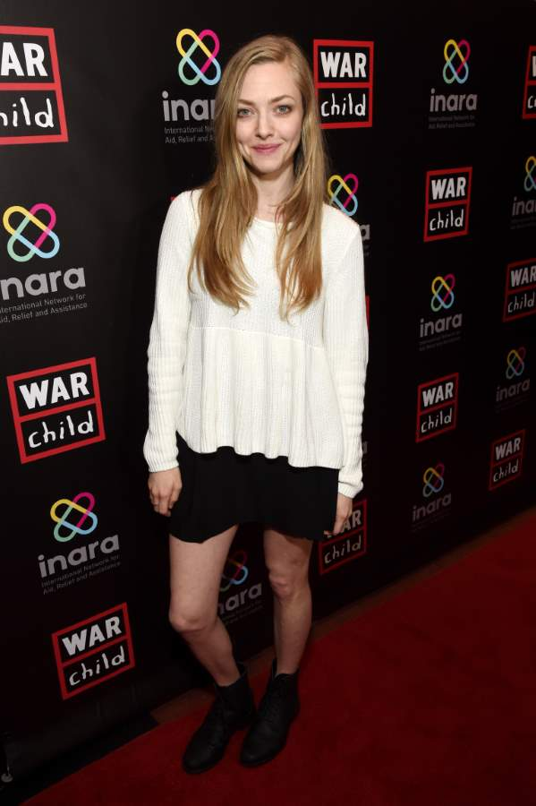 Amanda Seyfried - Supporting Children Affected by covid