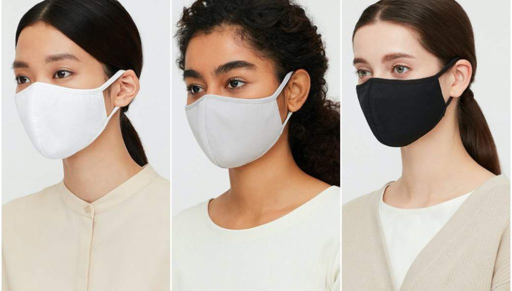 AIRism masks have 3 sizes and 3 colors. Photo: Uniqlo