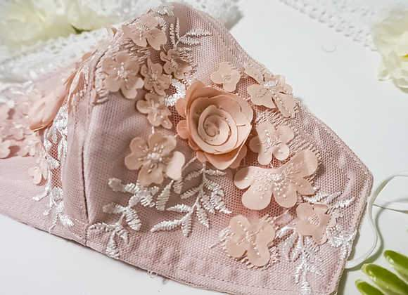 Lovely mask by Diana Brooks Bridal. Photo: dianabrooksbridal.com