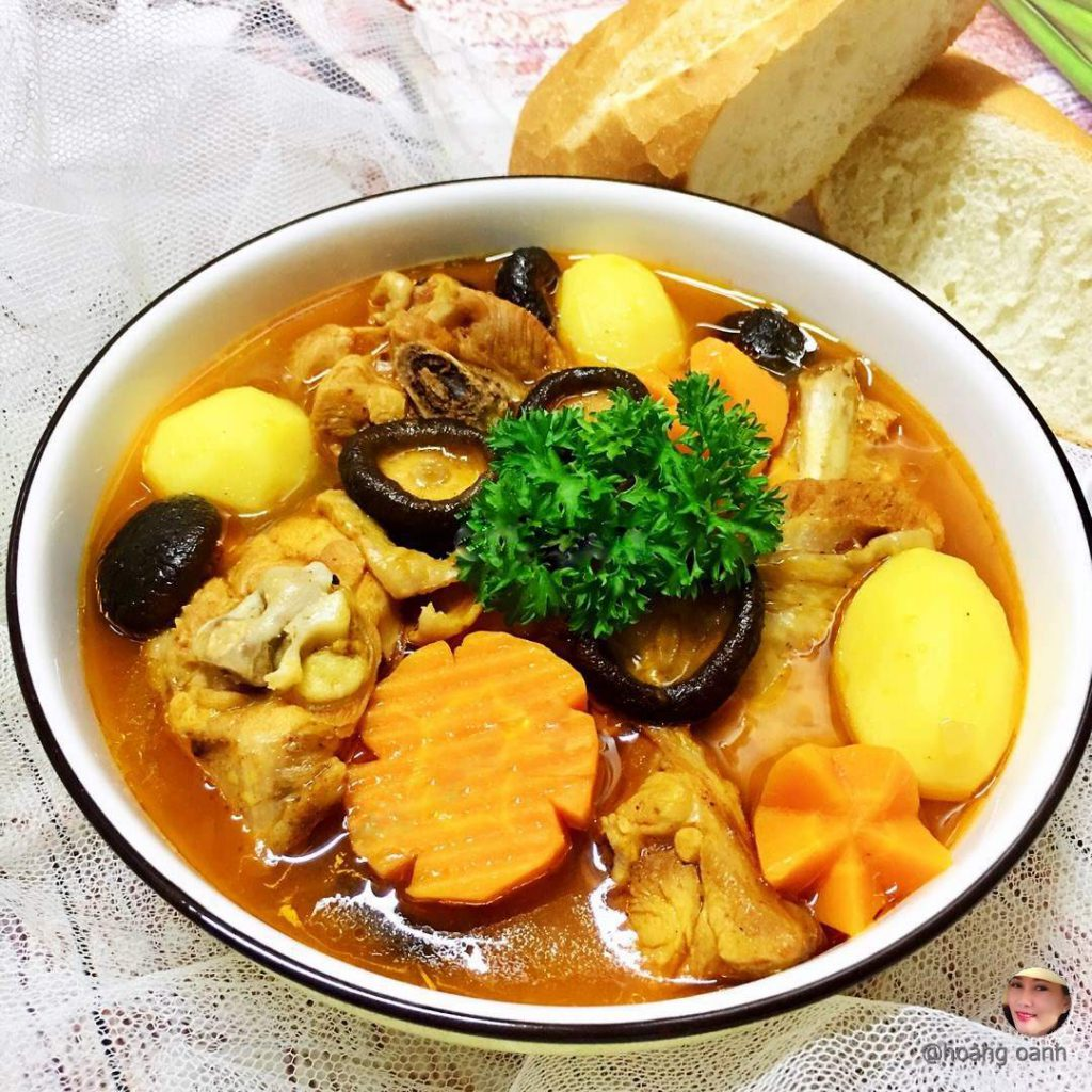 Chicken ragout with shiitake mushrooms - Cooky