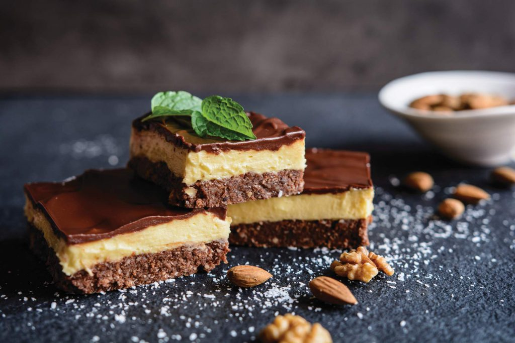 Nanaimo Bars from British Columbia