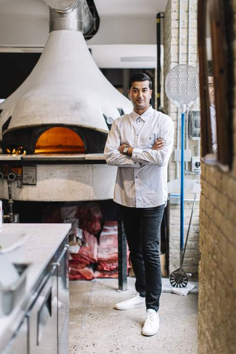 General Assembly Pizza's founder and CEO Ali Khan Lalani