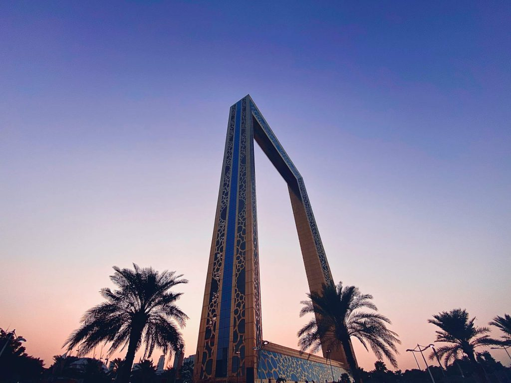 The Dubai frame offers a full view of the city. Photo by Shreyas Gupta on Unsplash